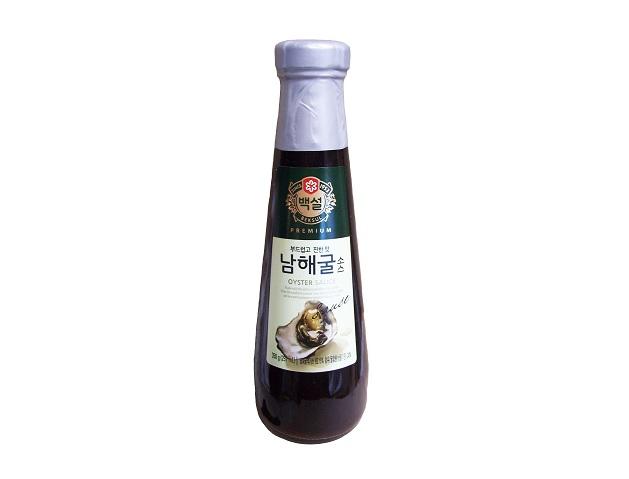 백설)남해굴소스350g