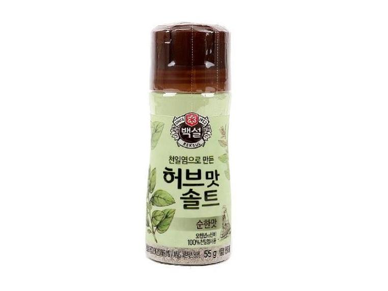 백설)허브맛솔트순한맛55g