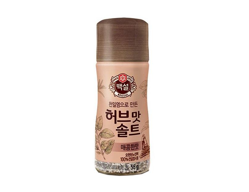백설)허브맛솔트매콤한맛55g