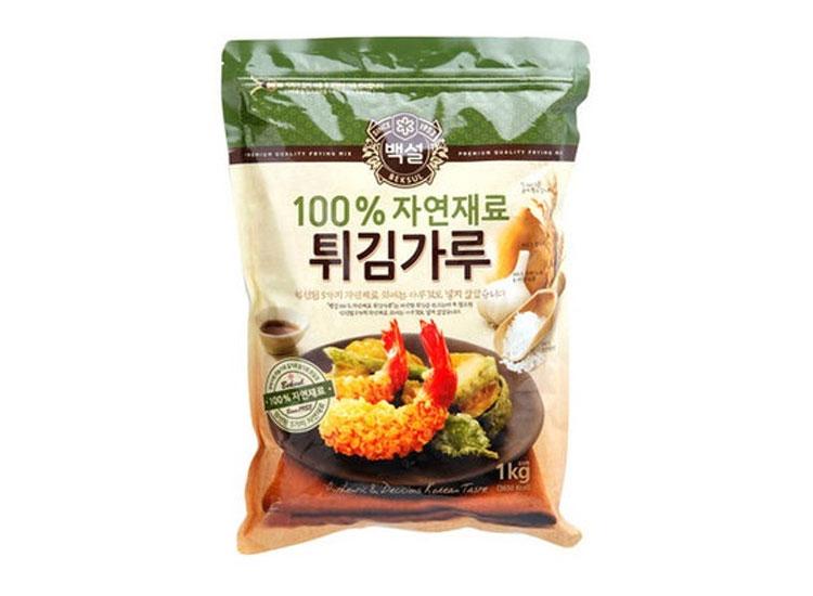 백설)자연재료튀김가루1kg