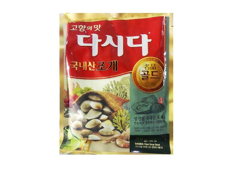 백설)다시다명품골드조개300g