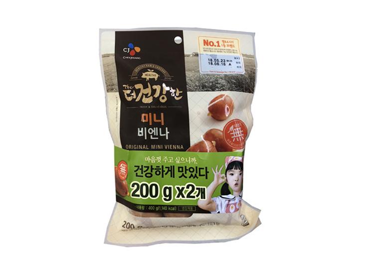 백설)더건강한미니비엔나200g*2