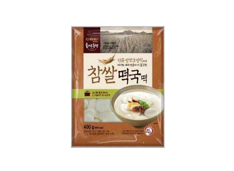 백설)참쌀떡국떡400g