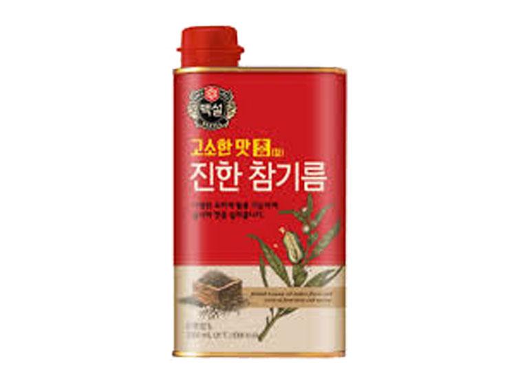 백설)고소한맛참진한참기름1000ml