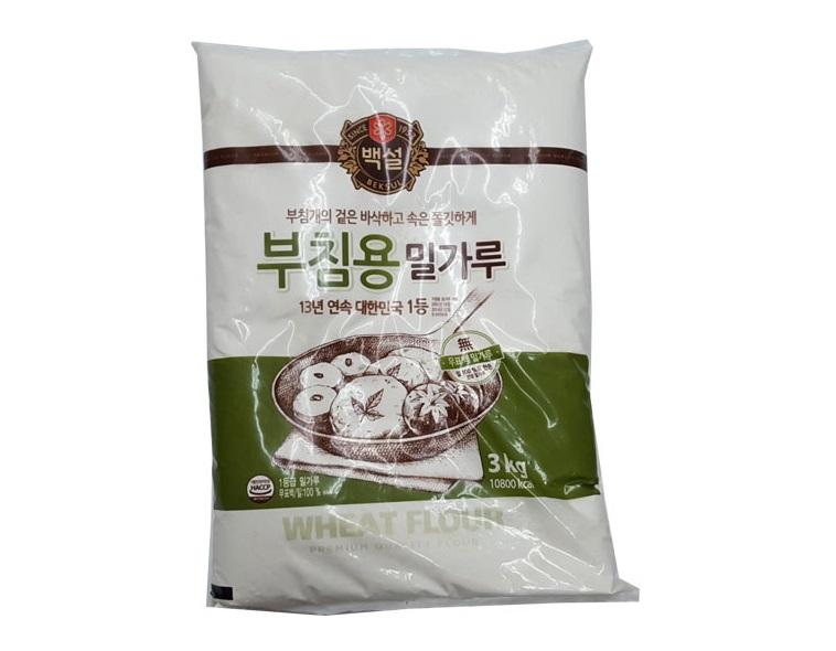 백설)부침용밀가루3kg