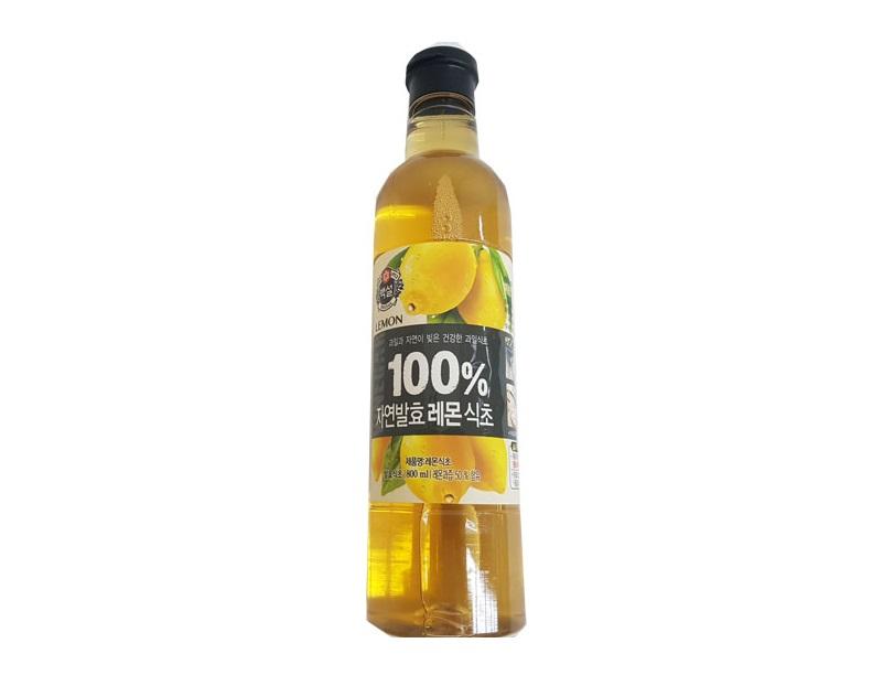 백설)100%자연발효레몬식초800ml