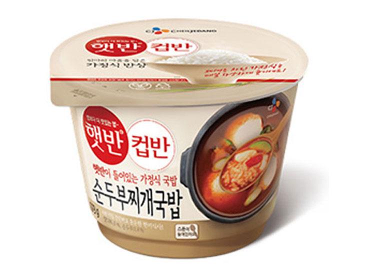 백설)햇반컵반순두부찌개국밥173g
