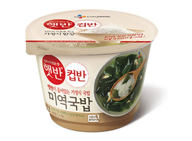 백설)햇반컵반미역국밥167g