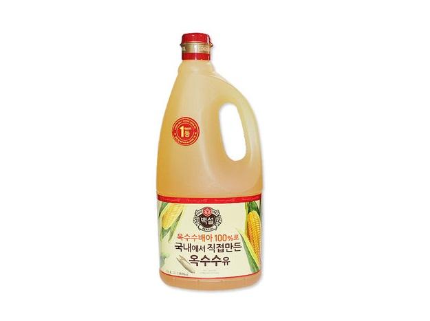 백설)옥수수유1.8L