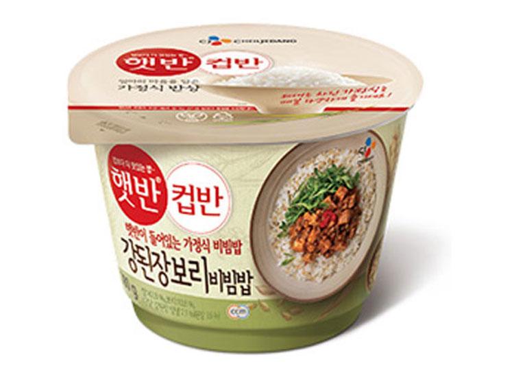 백설)햇반컵반강된장보리비빔밥280g