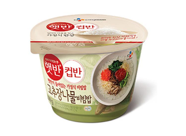 백설)햇반컵반고추장나물비빔밥229g