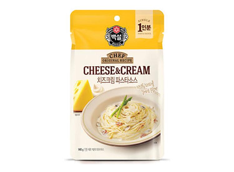 치즈크림파스타소스140G(파우치)