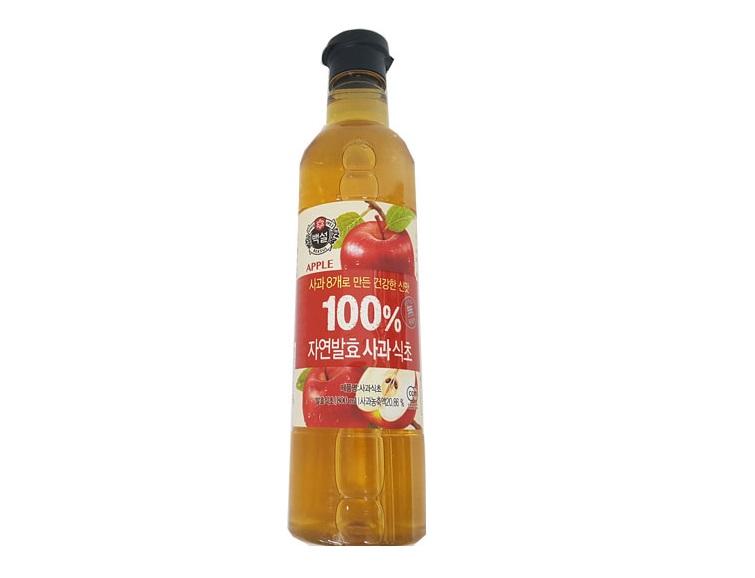 백설)자연발효사과식초800ml