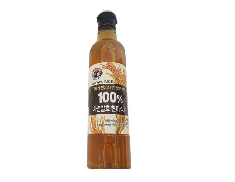 백설)자연발효현미식초800ml