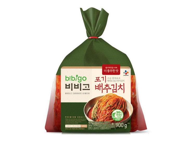 백설)비비고포기배추김치900g