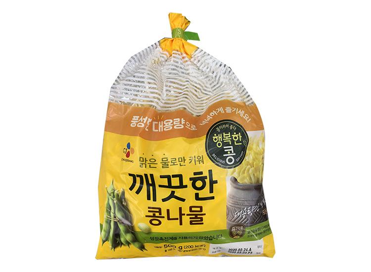 백설)깨끗한콩콩나물500g