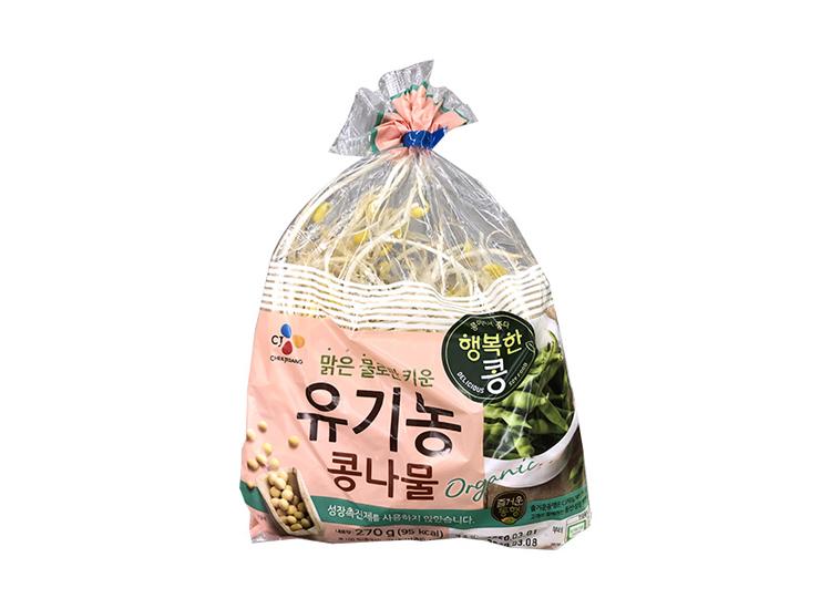 백설)유기농콩나물270g