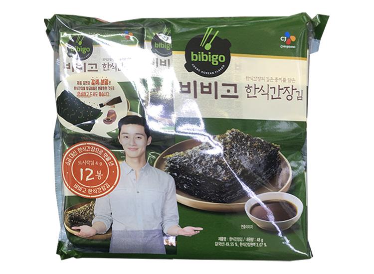 백설)비비고한식간장김12봉