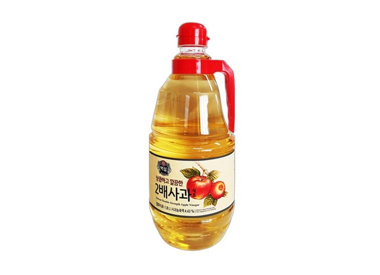 백설)2배사과식초1.8L