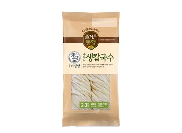 백설)미정당생칼국수400g