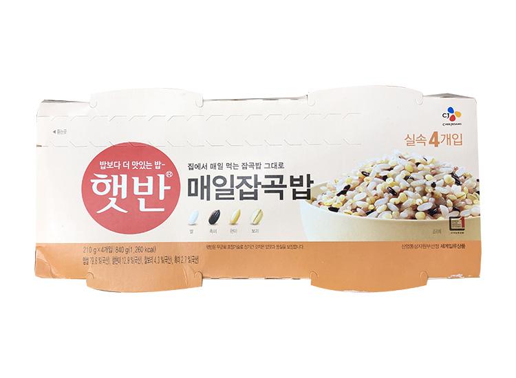 백설)햇반매일잡곡밥210g*4