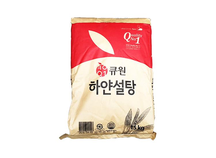 큐원하얀설탕15kg