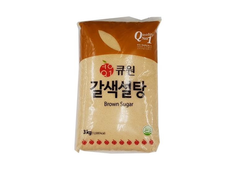 큐원갈색설탕3kg