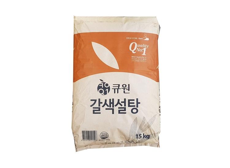 큐원갈색설탕15kg