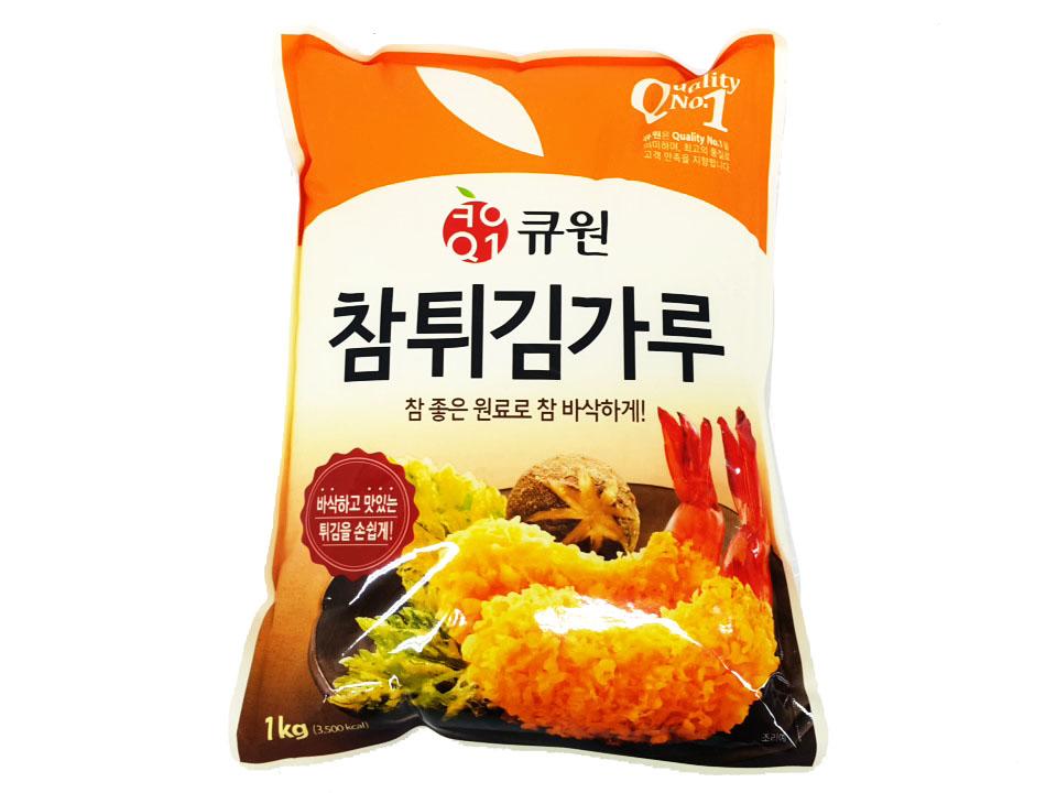 큐원참튀김가루1kg
