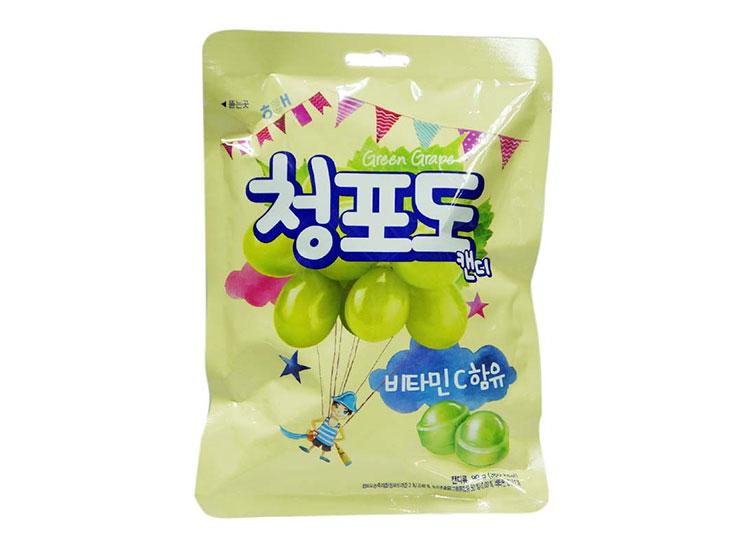 해태)청포도맛캔디90g