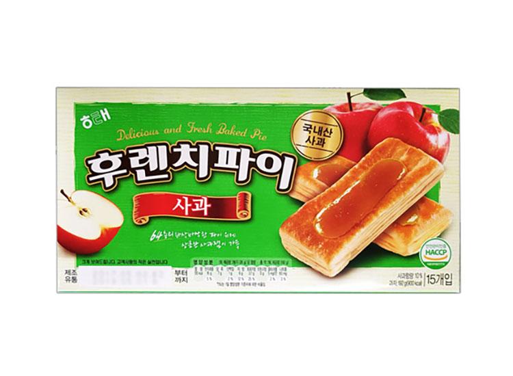 해태)후렌치파이사과맛192g