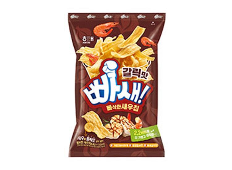 해태)빠삭한새우칩갈릭맛60g