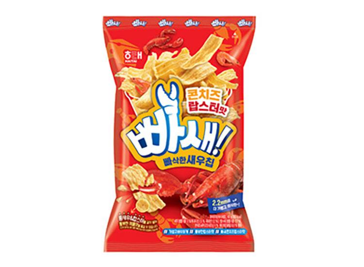 해태)빠삭한새우칩콘치즈랍스터맛60g