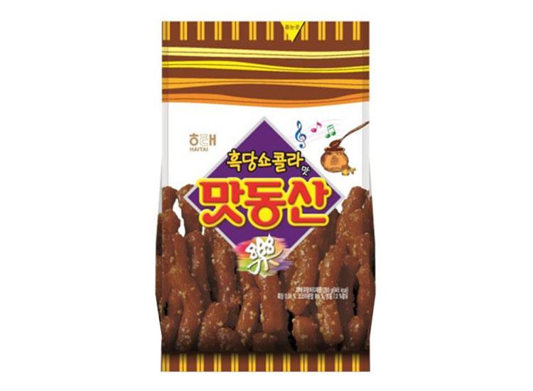 해태)맛동산흑당쇼콜라90g