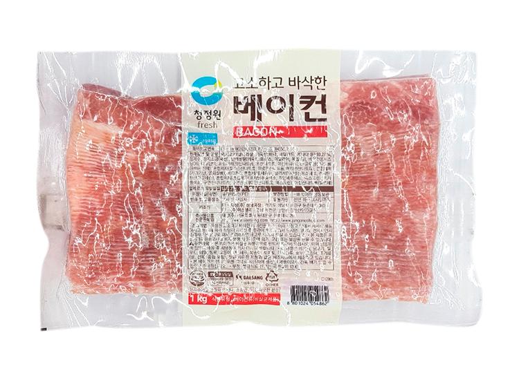청정원)고소하고바삭한베이컨1kg
