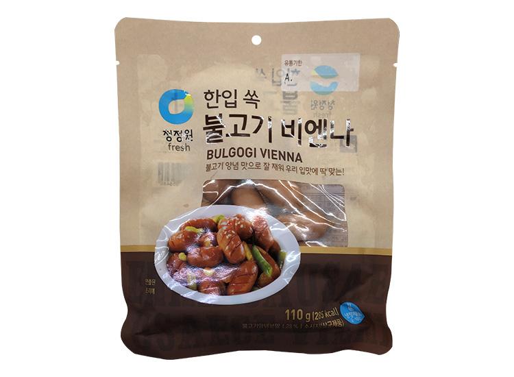 청정원)불고기비엔나110g