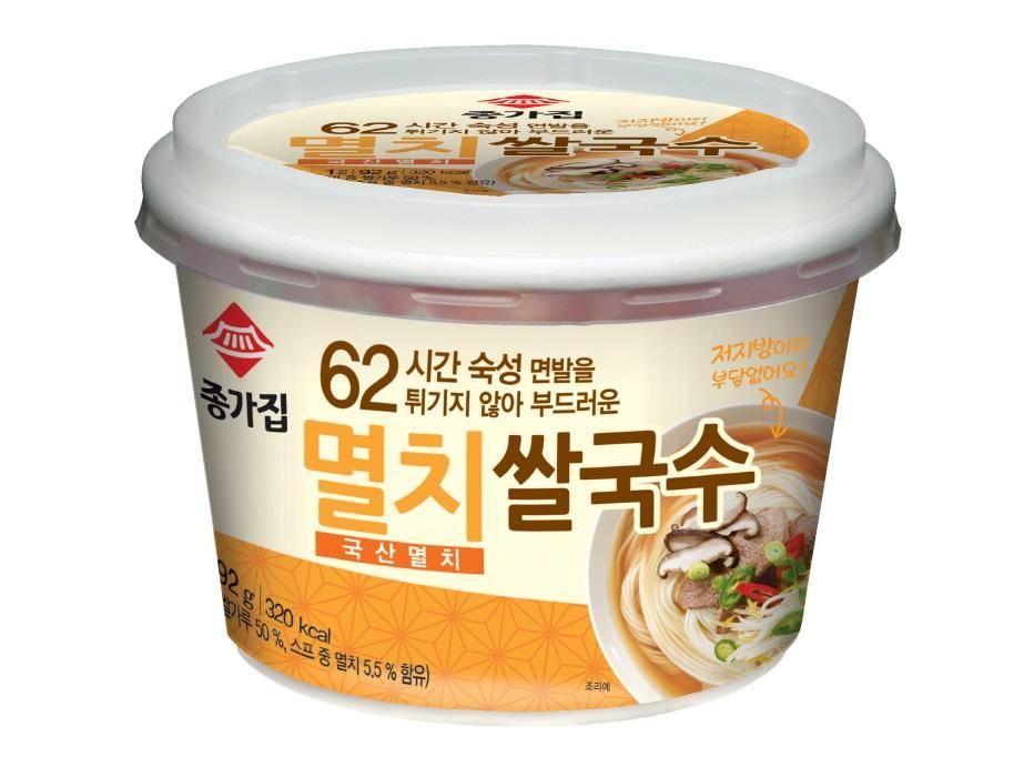 청정원)종가집멸치컵쌀국수92g