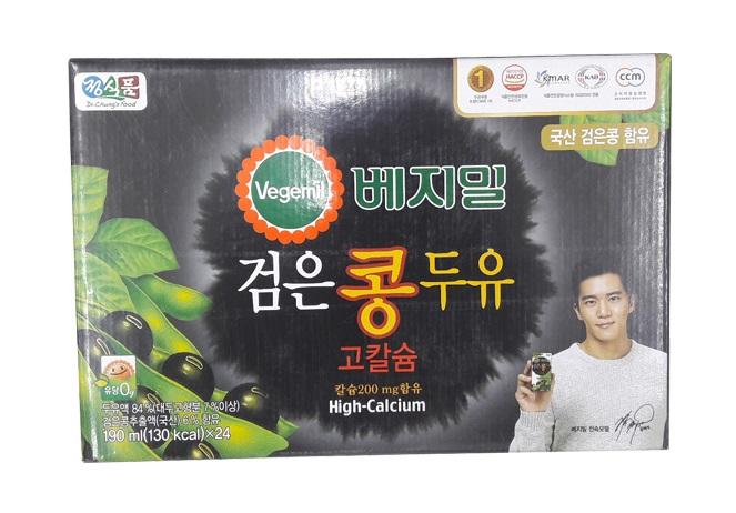 베지밀)검은콩고칼슘190ml*24입
