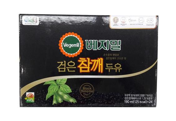베지밀)검은콩과참깨190ml*24입