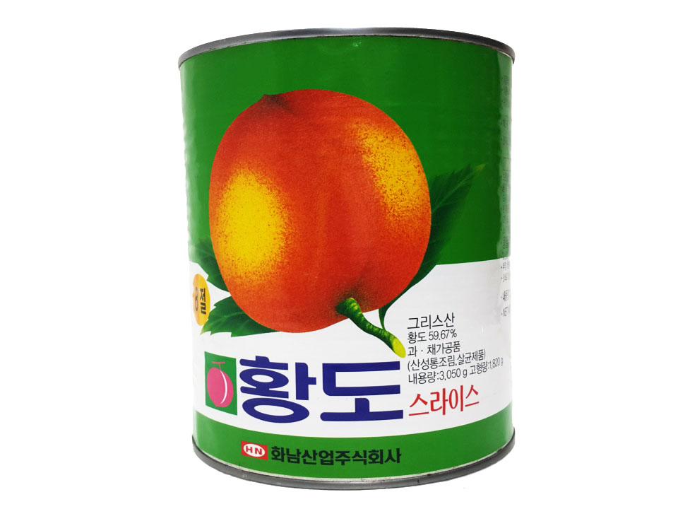 화남)황도슬라이스3kg