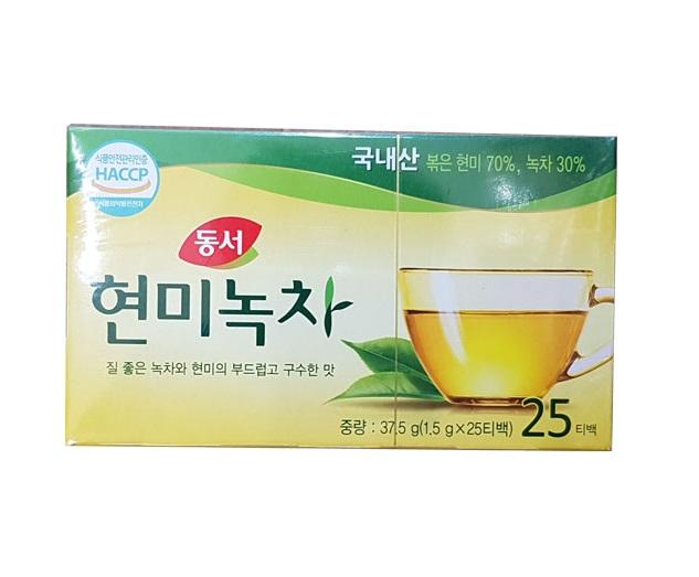 동서)현미녹차25T(37.5g)