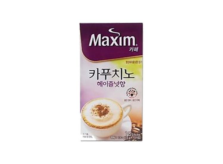 맥심)카푸치노헤이즐넛향10T(130g)