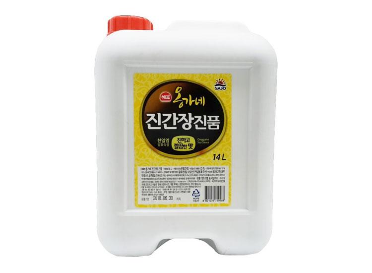 사조해표)옹가네진간장(진품)14L