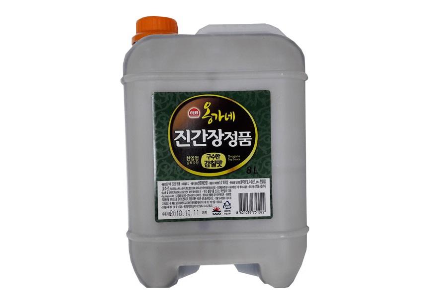 해표)옹가네진간장(정품)8L