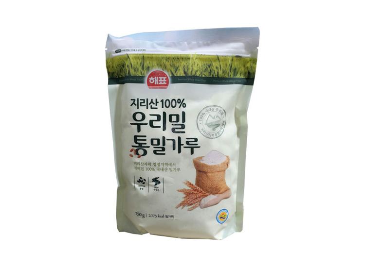 사조해표)우리밀통밀가루750g