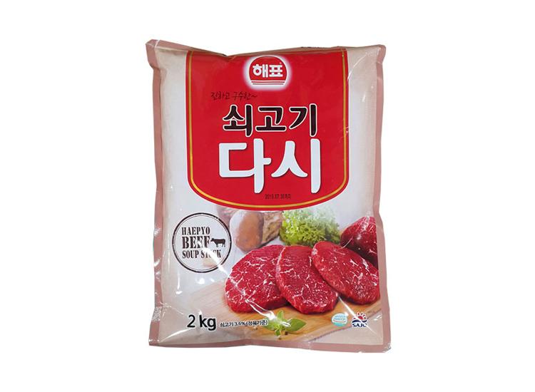 사조해표)쇠고기다시다2kg