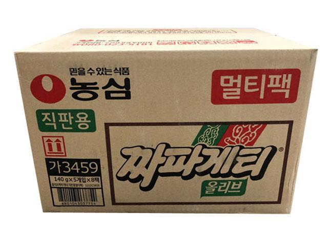 농심)짜파게티멀티140g*5*8-box
