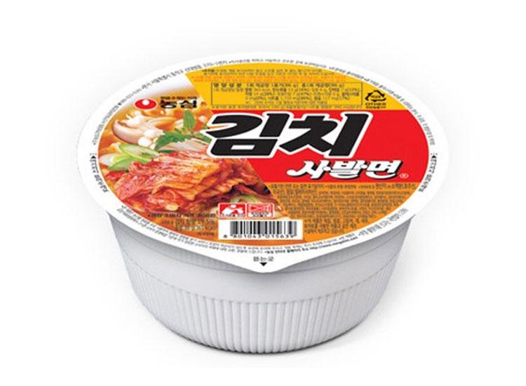 농심)김치사발면86g