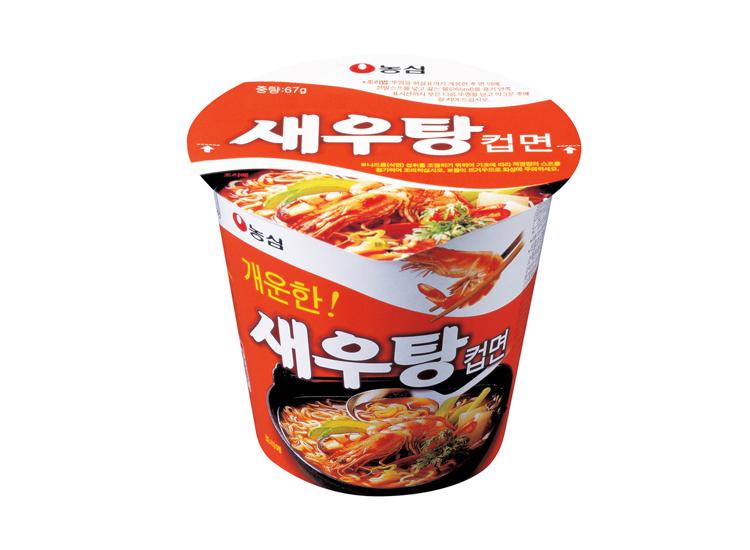 농심)새우탕컵67g