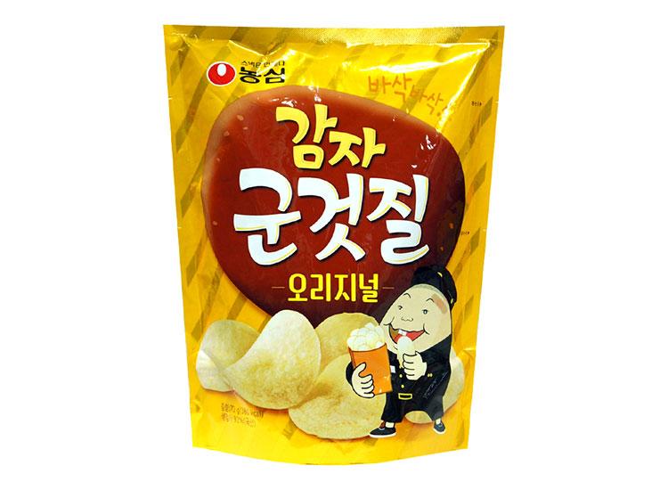 농심)감자군것질오리지날맛70g
